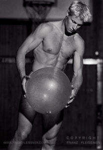 Swedish bodybuilder