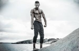 male fitness photoshoot , sweden