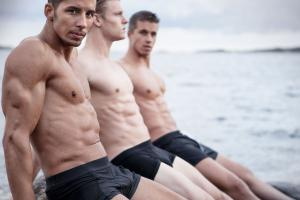 fitness models Swedish male by Franz Fleissner, Photography