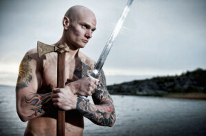 VIKINGS, male photographer franzfleissner